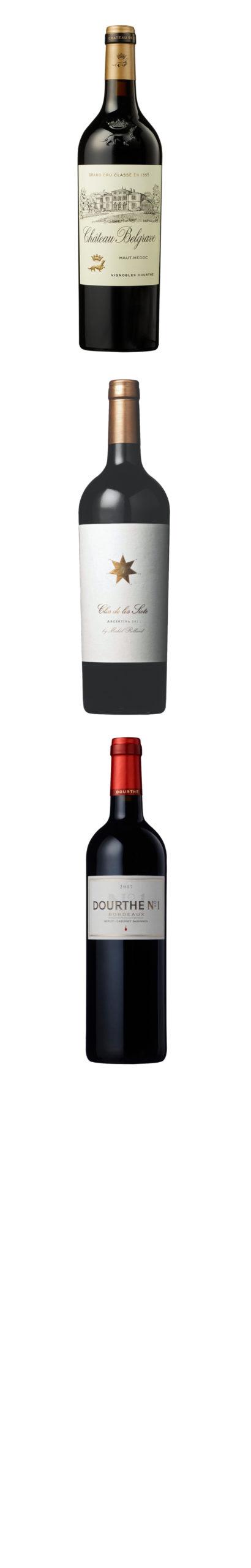 Portefeuille Vins Champagnes & Chateaux